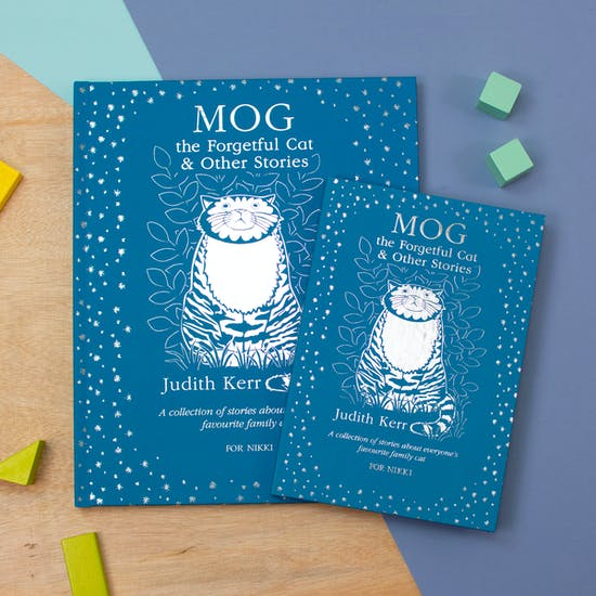 Personalised Book of Mog The Cat Stories