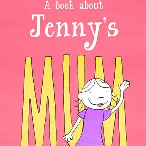 Personalised Book Of My Mum