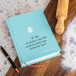 Personalised My Baking Journal
