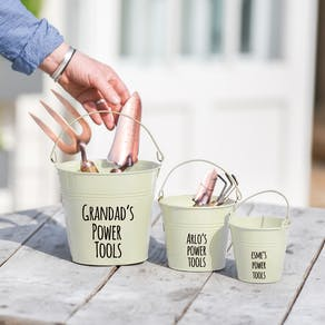 Personalised Buckets For Daddy And Me
