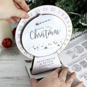 Personalised Build Your Own Advent Calendar