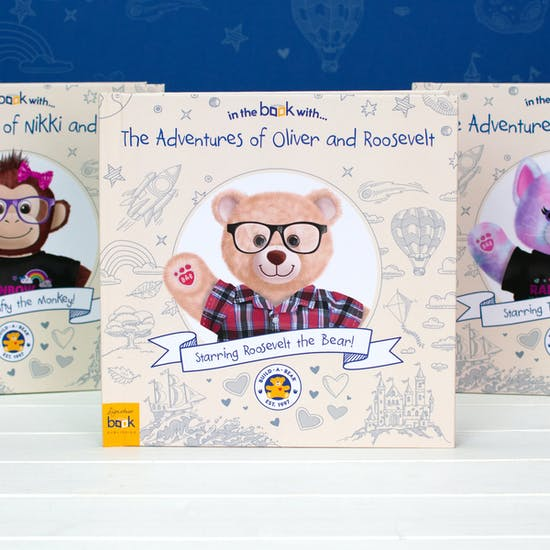 Personalised Build A Bear Adventure Book