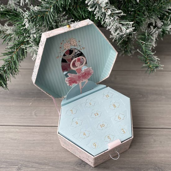 Personalised Ballerina Charm Advent Calendar