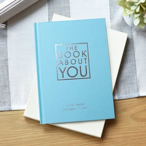 Personalised Blue Book about you