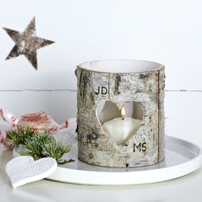 Christmas Birch Bark Letters
