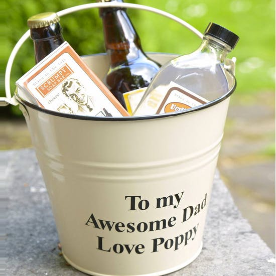 Personalised 'Boozy' Gift Bucket