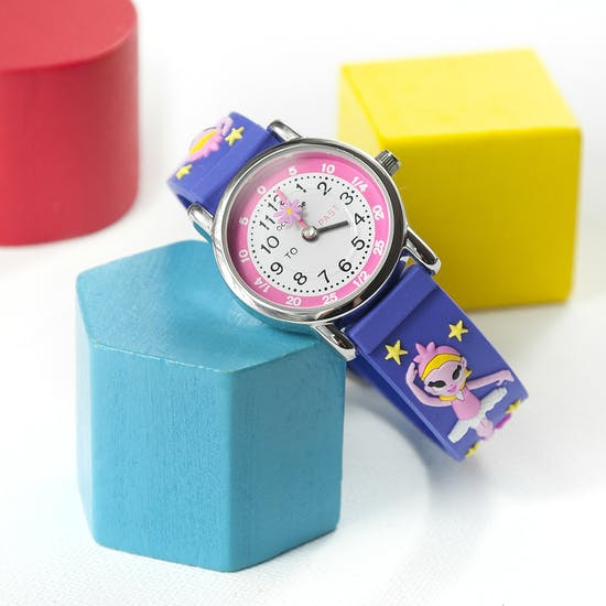 Personalised Childs Ballerina Watch