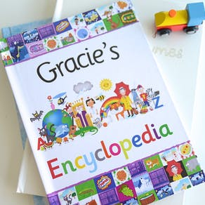 Personalised Childs Encyclopedia Gift