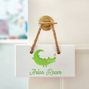 Personalised Childs Room Sign