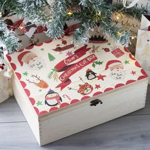 Personalised Christmas Eve Collaboration Box