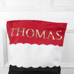Personalised Christmas Penguin Sack