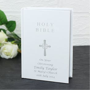 Personalised Christening Bible