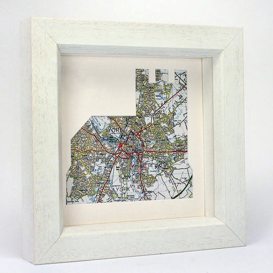 Personalised Church Map Artwork