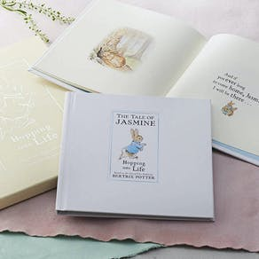 Personalised Collection Of Four Peter Rabbit Books