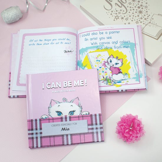 Personalised I Can Be Me Nina Kitten Book