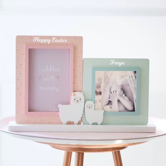 Personalised Double Photo Frame