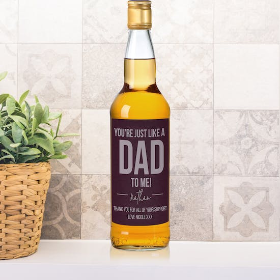 Personalised Just Like A Dad Whisky