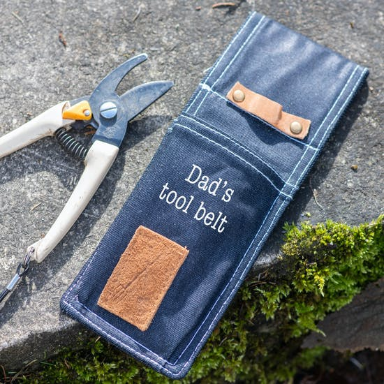 Personalised Denim Tool Sheath