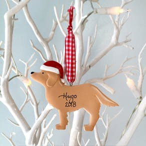 Personalised Pet Bauble Decoration