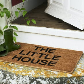Personalised Check List Doormat