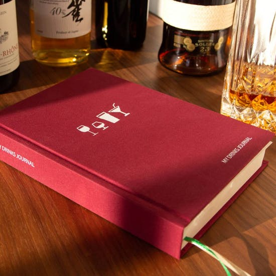 Personalised My Drinks Journal Gift Book