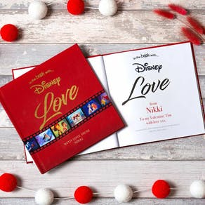 Personalised Disney Book To The One You Love
