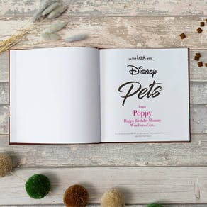 Personalised Disney Book From Your Pet