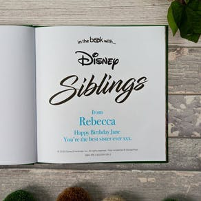 Personalised Disney Book For Your Sibling