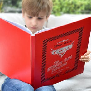 Personalised Disney Cars Book