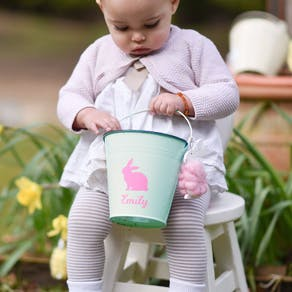 Personalised Easter Egg Hunt Buckets