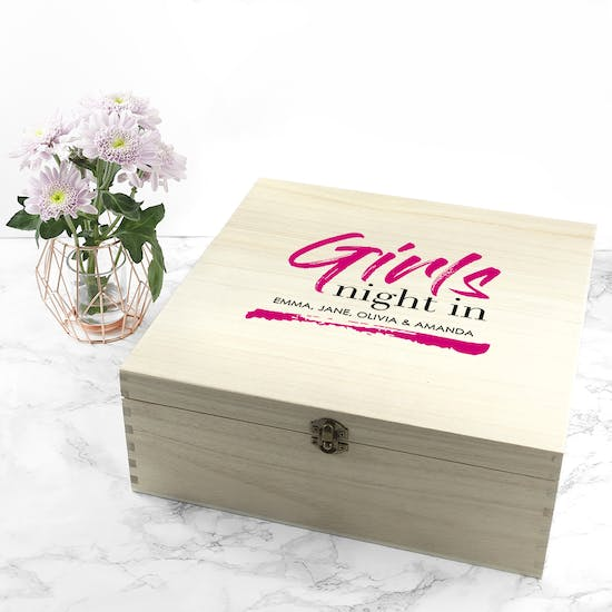 Personalised Exclusive Girls Night Box