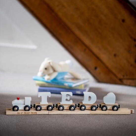 Personalised Exclusive Train And Track