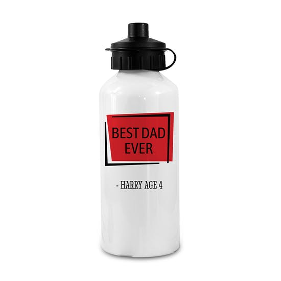 Personalised Flask Sports Bottle