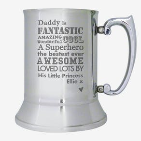 Personalised 'Fantastic ' Tankard