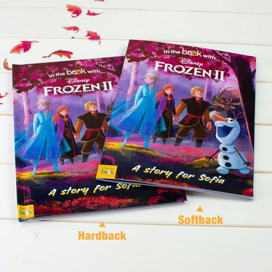 Personalised Frozen Two Gift Boxed Book