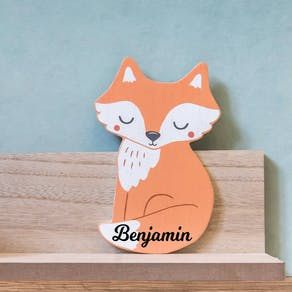 Personalised Fox Designed Shelf