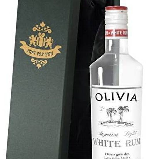 Personalised Gift Boxed Rum