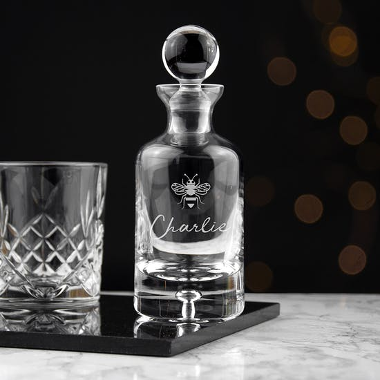 Personalised Glass Decanter