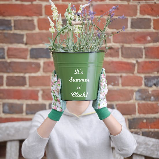 Personalised Gardening Bucket