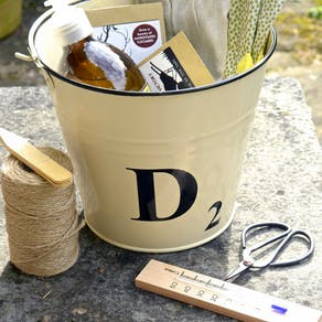 Personalised Double Bucket