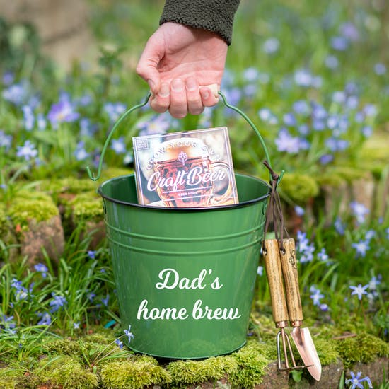 Personalised Grow Your Own Craft Beer And Bucket