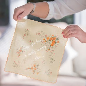Personalised 'Get Better Soon' Handkerchief