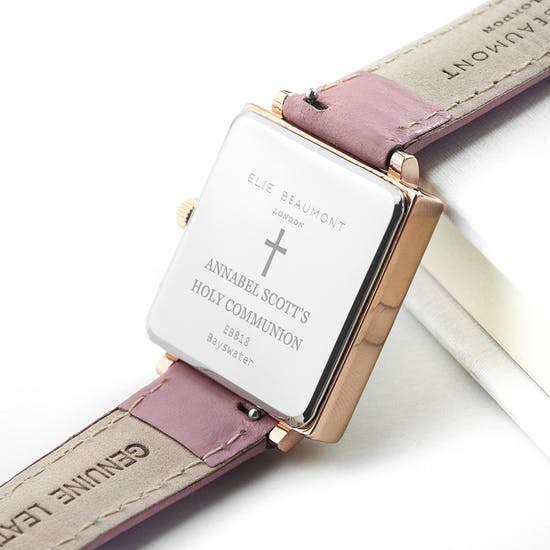 Personalised Holy Communion Watch