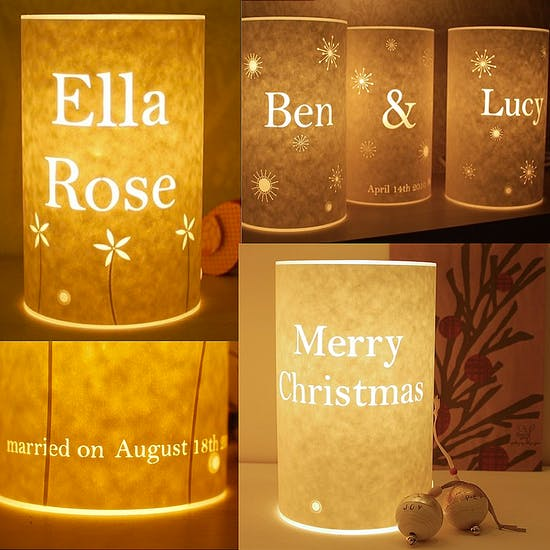 Personalised Handmade Lamp