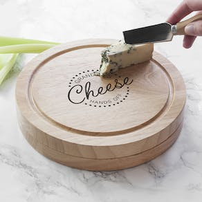Personalised Hands Off Cheese Set