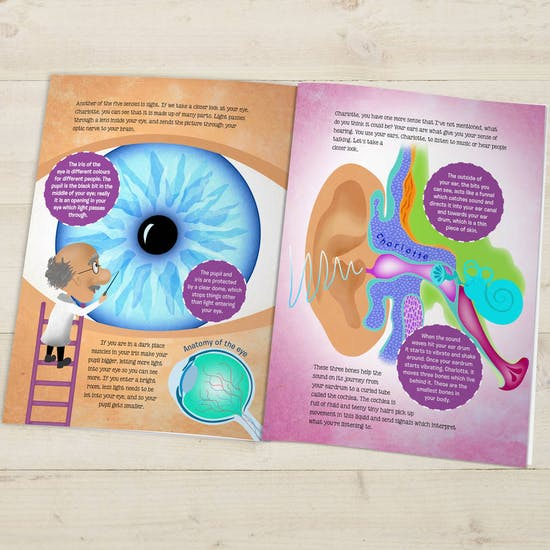 Personalised 'How Your Body Works' Book