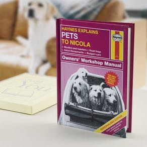 Personalised Haynes Explains Pets