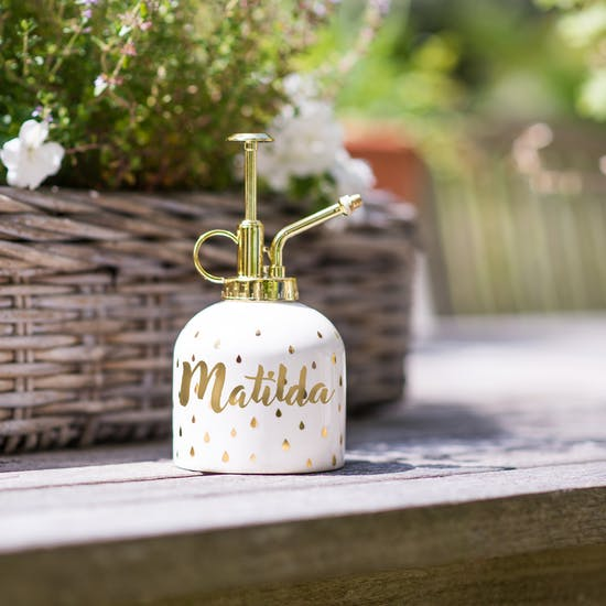 Personalised Keep Growing Water Mister
