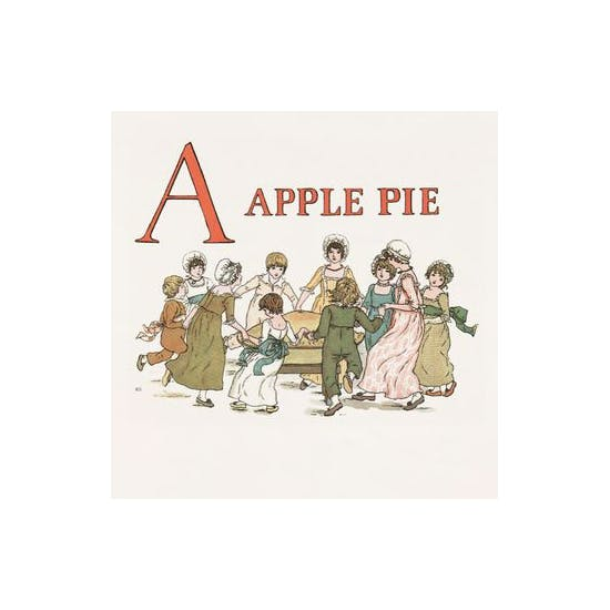 Personalised Kate Greenaway Alphabet Book