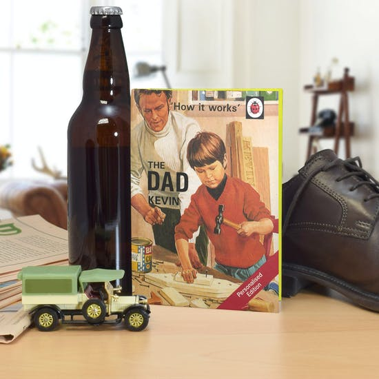 Personalised Ladybird Book Of Dad